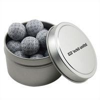 934520986-105 - Round Tin w/Chocolate Golf Balls - thumbnail