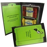 955554586-105 - Calling Card w/ Ghirardelli Chocolate Squares (Custom) - thumbnail