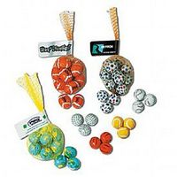 983892183-105 - Foil Wrapped Chocolate Golf Balls in Mesh Net - thumbnail