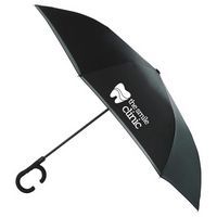 "105511261-115 - 48"" Inversion Auto Open Umbrella w/ C-Shape Handle - thumbnail"