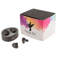 115450856-115 - Micro True Wireless Earbuds with Full Color Wrap - thumbnail