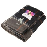305812823-115 - Plaid Fleece Sherpa Blanket with Full Color Card - thumbnail