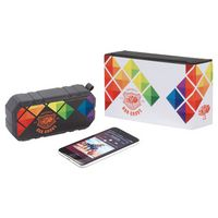 385559542-115 - Brick Outdoor Bluetooth Speaker w/ Full Color Wrap - thumbnail