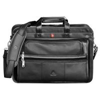 "522120754-115 - Wenger® Leather 15"" Computer Attaché - thumbnail"