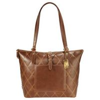 525155307-115 - Cutter & Buck® Bainbridge Quilted Leather Tote - thumbnail