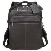 544537083-115 - Kenneth Cole® Colombian Leather TSA Compu-Backpack - thumbnail
