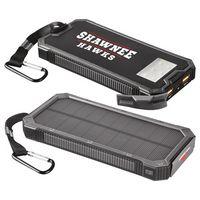 595285280-115 - High Sierra® Falcon Solar 10000 mAh Power Bank - thumbnail