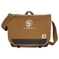 "704535427-115 - Carhartt® Signature 17"" Computer Messenger Bag - thumbnail"