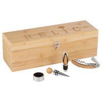 716068917-115 - Bamboo Wine Case Set - thumbnail