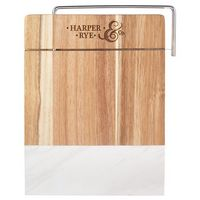 785511121-115 - Marble and Acacia Wood Cheese Cutting Board - thumbnail