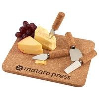965911040-115 - Cork 5 Piece Cheese Serving Set - thumbnail
