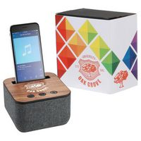 985559546-115 - Shae Fabric Bluetooth Speaker with Full Color Wrap - thumbnail
