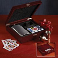 115185635-116 - Flask and Gambling Gift Box - thumbnail