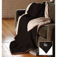 134166960-116 - Oversized Micro Mink Sherpa Blanket - thumbnail
