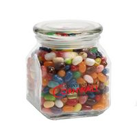 534447829-116 - Jelly Belly® Candy in Med Glass Jar - thumbnail