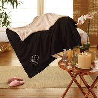 553660110-116 - Micro Mink Sherpa Blanket - thumbnail