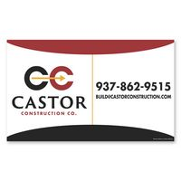 901661351-116 - Car Sign Small Rectangle Magnet - thumbnail
