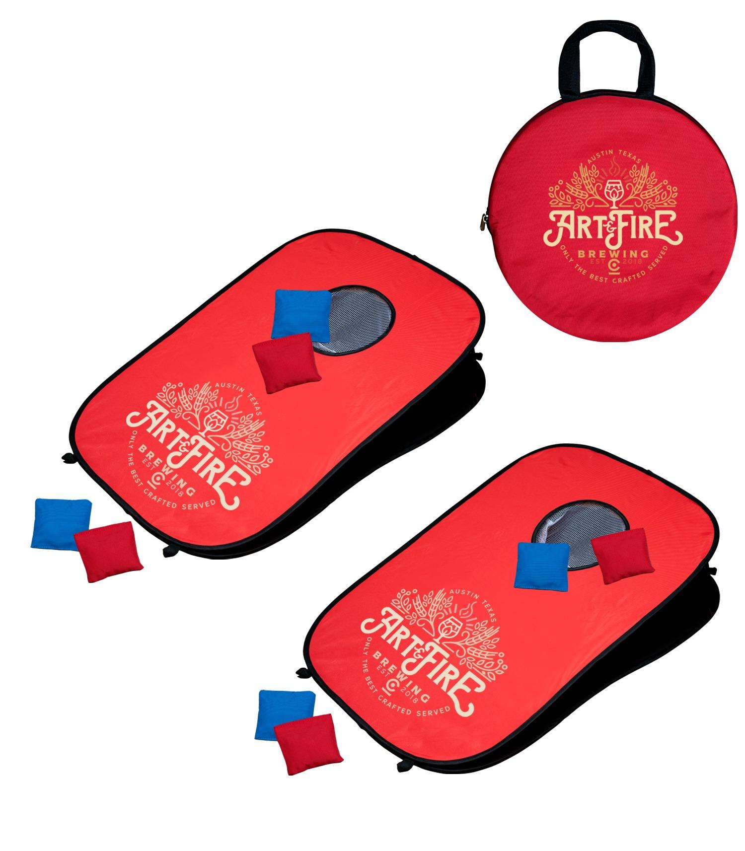 346443834-154 - Portable Pop-Up Cornhole Set - thumbnail