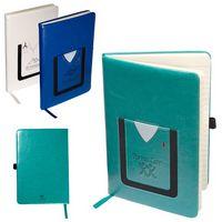 116000994-159 - Leeman™ Medical-Themed Journal Book w/Cell Phone Pocket - thumbnail