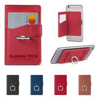 116047623-159 - Tuscany™ Duo Card Pocket w/Metal Ring - thumbnail