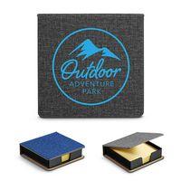 176090019-159 - Heathered Sticky Memo Pad Box - thumbnail