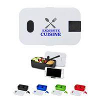 186100177-159 - Bento Style Plastic Lunch Box - thumbnail