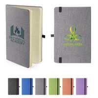 195714746-159 - Strand™ Snow Canvas Bound Journal - thumbnail