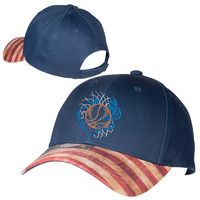 315046830-159 - Patriotic Structured Baseball Cap - thumbnail