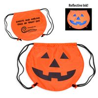 355666759-159 - Pumpkin Drawstring Backpack - thumbnail