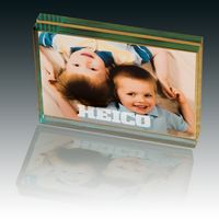 513397895-159 - Atrium™ Glass Medium Desk Photo Frame - thumbnail