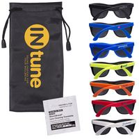 544738350-159 - Matte Sunglasses & Lens Cleaning Wipes in a Pouch - thumbnail