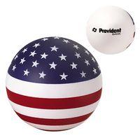 545666188-159 - USA Patriotic Round Ball Stress Reliever - thumbnail