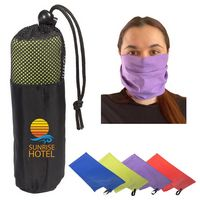 705512859-159 - Microfiber Quick Dry & Cooling Towel in Mesh Pouch - thumbnail