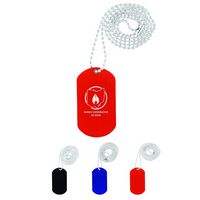 705666700-159 - Dog Tag on Bead Chain - thumbnail
