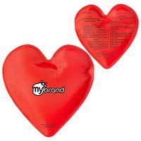 735940445-159 - Heart Nylon Covered Gel Hot/Cold Pack - thumbnail