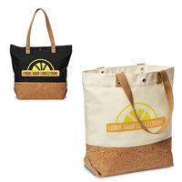 756071565-159 - 12 Oz. Canvas/Cork Shopper Tote - thumbnail