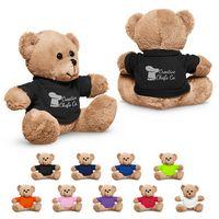"765446648-159 - 7"" Plush Bear w/T-Shirt - thumbnail"