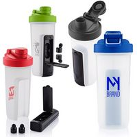 765945608-159 - 20 Oz. Shaker Fitness Bottle w/Bluetooth® Earbuds - thumbnail