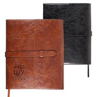 775710443-159 - Sorrento™ Refillable Journal w/Business Card Organizer - thumbnail