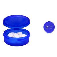 915666773-159 - Single Compartment Plastic Pill Case - thumbnail
