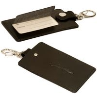 953397871-159 - Freedom Swivel Hook Luggage Tag w/Silver Clasp - thumbnail