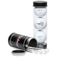 515455708-815 - Titleist Pro V1 3-Ball Tube with Stock Tees - thumbnail