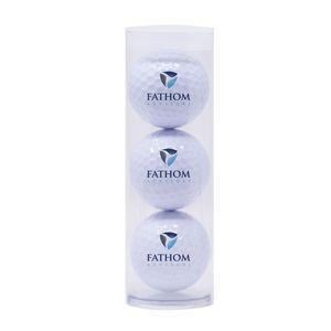 703416321-815 - Three Golf Balls in Plastic Tube - thumbnail
