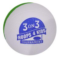 745534015-815 - Two Tone Mini Foam Basketball - thumbnail