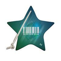 315937737-190 - SILVERHEELS Recycled Dye-Sublimated Felt Star Ornament - thumbnail