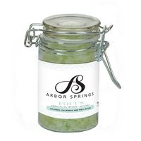 344566290-190 - Essential Oil Infused Bath Salts in Clear Wire Bale Jar - thumbnail