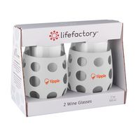 786439653-190 - 17 oz. lifefactory® Wine Glass with Silicone Sleeve 2 Pack - thumbnail