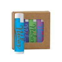 795441806-190 - Lip Moisturizer 4-Pack in Kraft Window Box - thumbnail