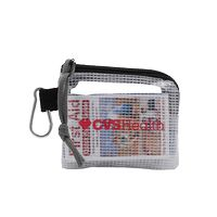 996212618-190 - First Aid Kit in a Zippered Clear Nylon Bag - thumbnail