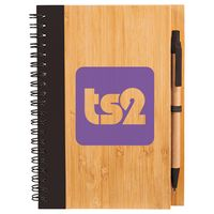 "506072700-103 - 5"" x 7"" Bamboo Notebook - thumbnail"